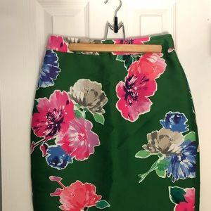 Kate Spade Floral Pencil Skirt